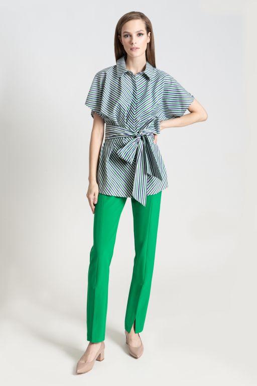 Блузка Hary Green Stripe арт: 6.1626 B1